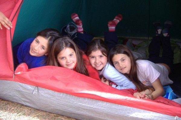 Fotolog de patios abiertos balcarce: Campamento